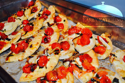 Pizzette with Tomato & Balsamic