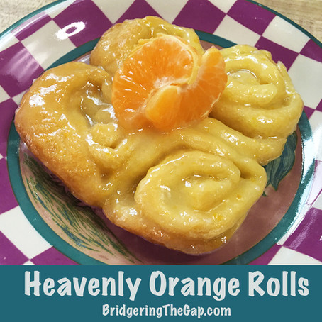 Heavenly Orange Rolls