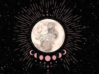 Full Moon in Aries!
