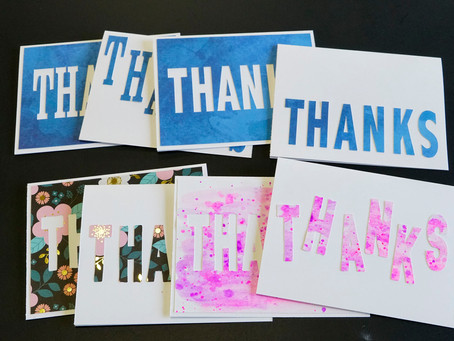 Thank You Cards - With Freebie!