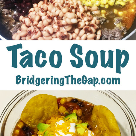 Taco Soup - An Easy & Tasty One Pot Recipe