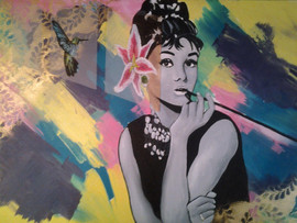 Audrey Mixed Media