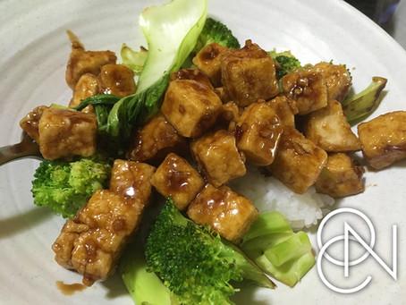 Air Fryer Friday - Sweet Chili Tofu