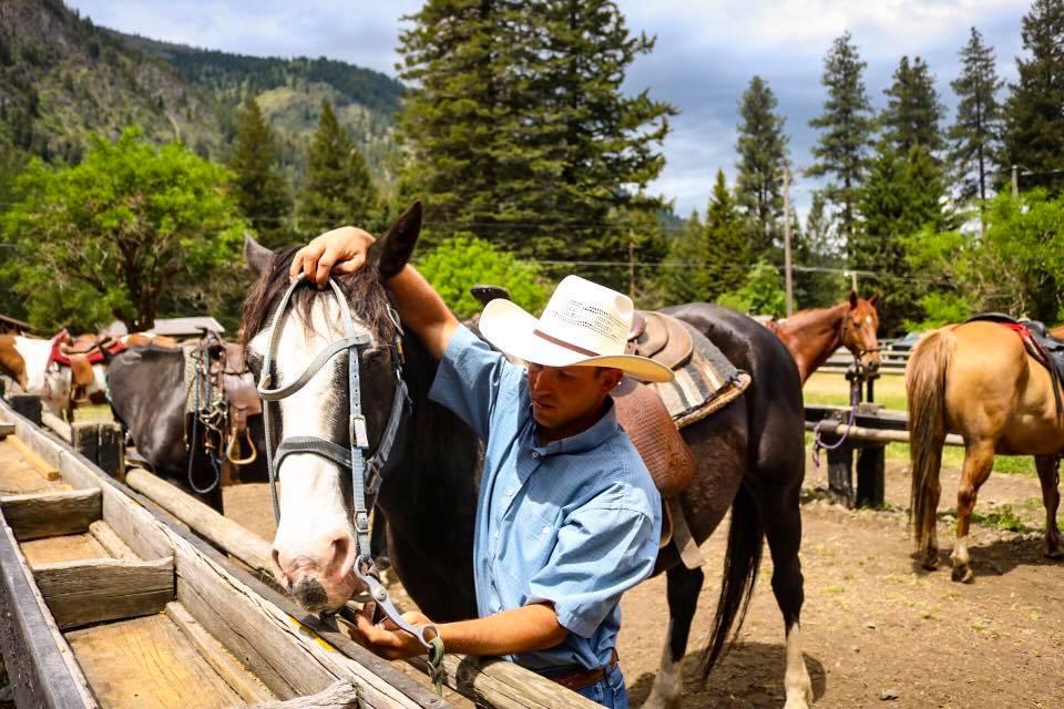 Brian & Horse