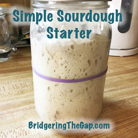 Simple Sourdough Starter