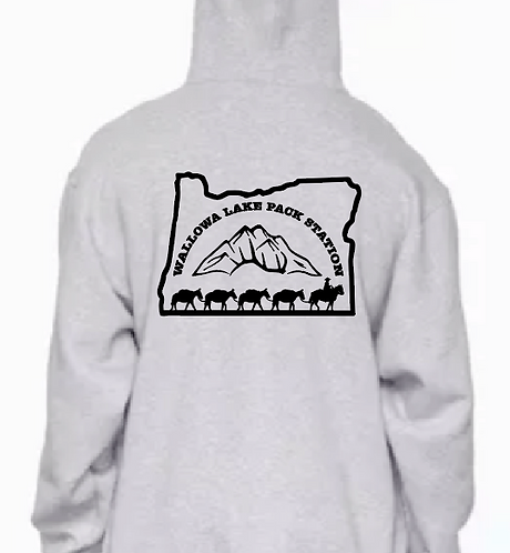 Wallowa Lake Pack String Oregon Hoodie