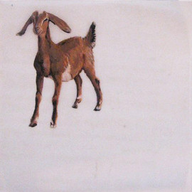 Goat Patty Paper Painting