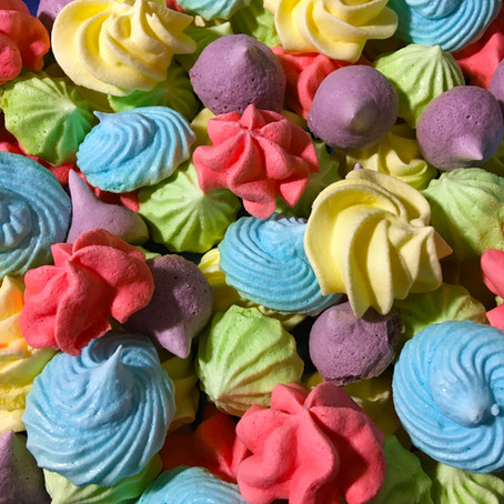 Kool-Aid Meringue Candies