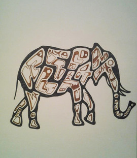 Elephant Word Sketch