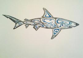 Stylized Shark