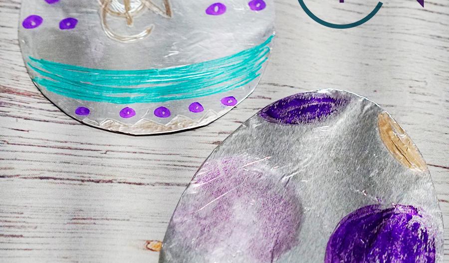 Foil Easter Eggs