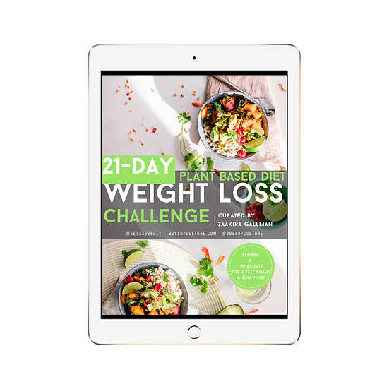 21 Day Weight Loss Challenge - eBook