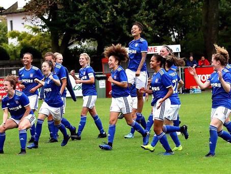 Ipswich Town FC Women History Makers.