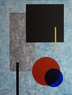"""""""Composition autour du carré noir"""""""