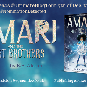 Blog Tour: Amari and the Night Brothers