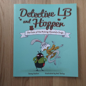Detective LB and Hopper: The Case of the Missing Chocolate Frogs