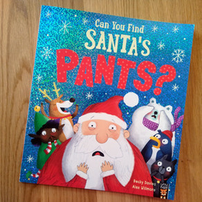 Can you Find Santa's Pants?