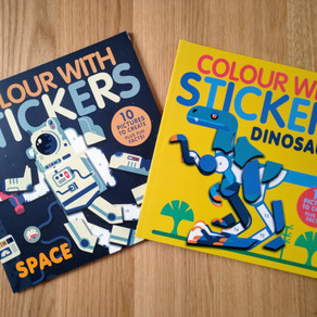 Colour with Stickers