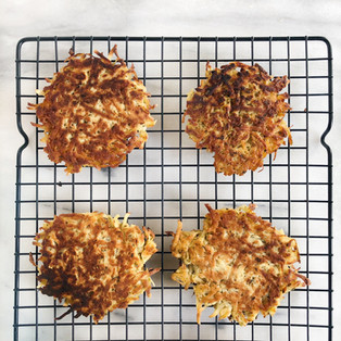 Parsnip Fritters (Paleo)