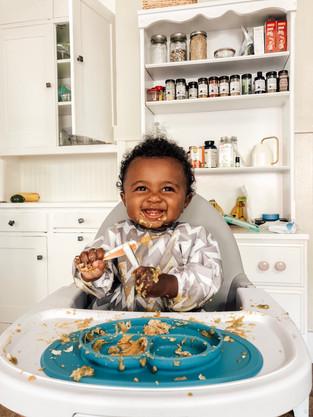 Ellington's Eats: Eight Months Old
