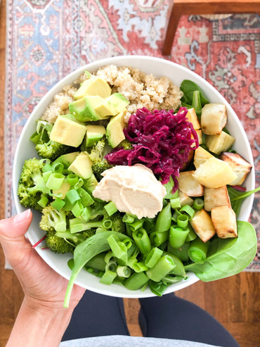 My Formula for Building a Healthy Pregnancy Bowl