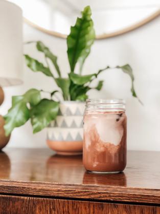 Iced Maca Latte
