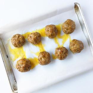 Turmeric Grass-Fed Lamb Meatballs