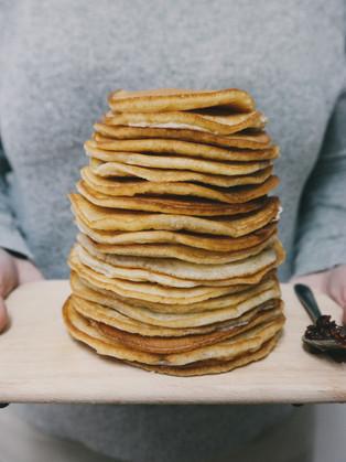 Ellington's Eats: Variations on Two-Ingredient Pancakes