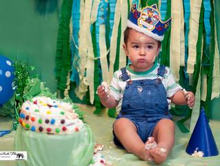 Lucas y su torta , Sesión Smashcake
