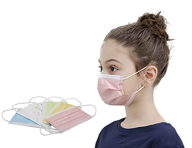 Disposable Kids Mask - 50/Box