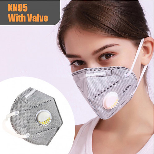 10 KN95 Respiratory Mask with a Valve