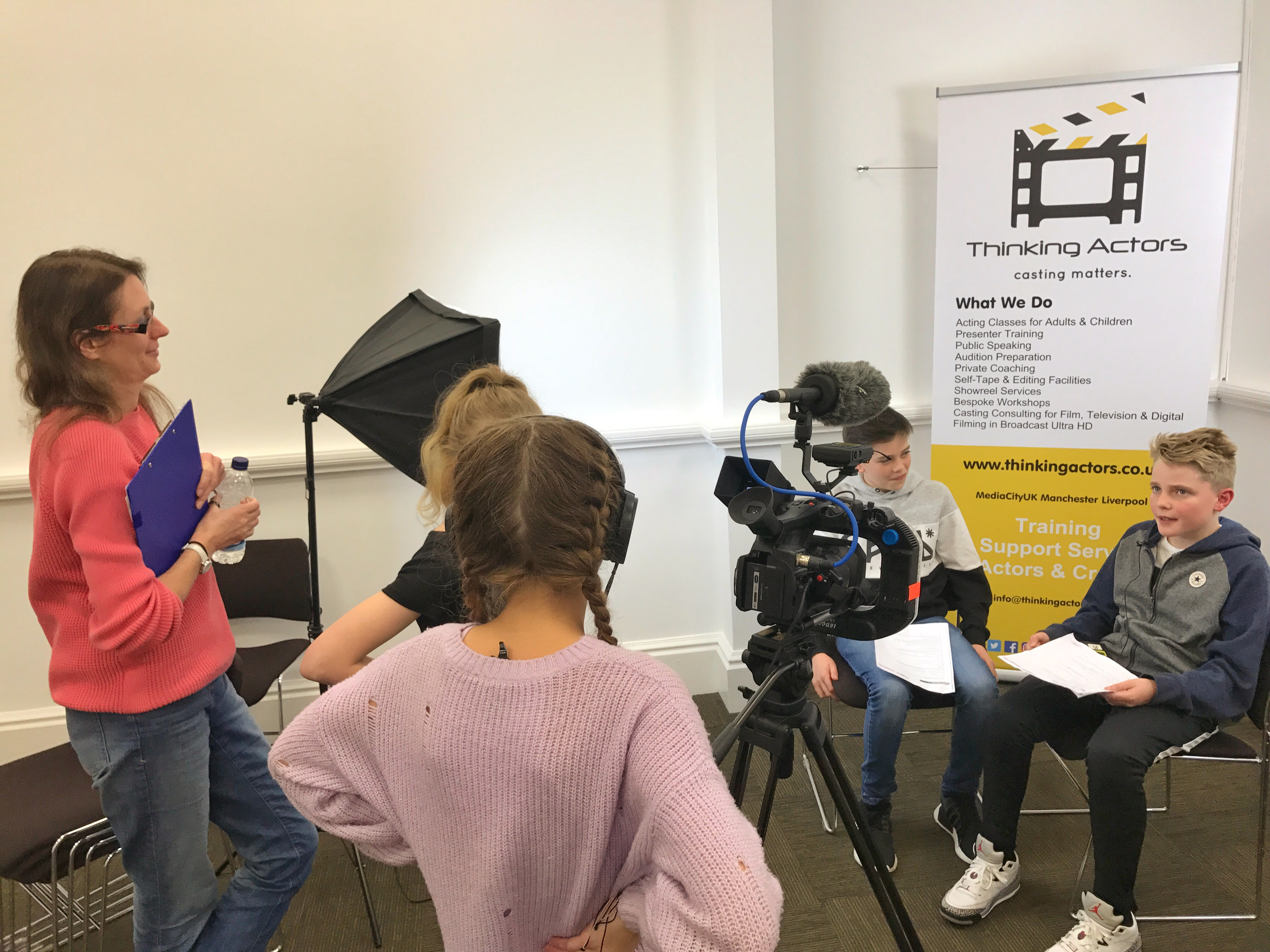 Stage One Thinking Actors Children Acting Class Manchester