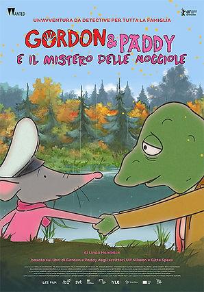 GORDON & PADDY E IL MISTERO... locandina