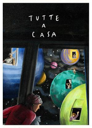 #TUTTEACASA locandina