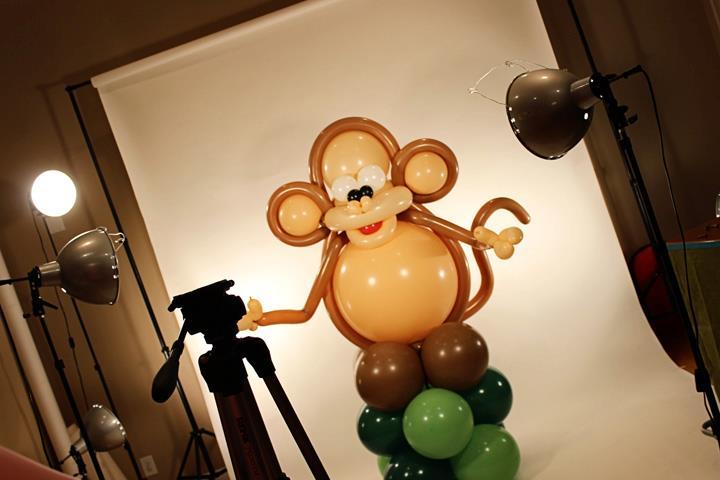 Monkeying Around with a Jumbo!