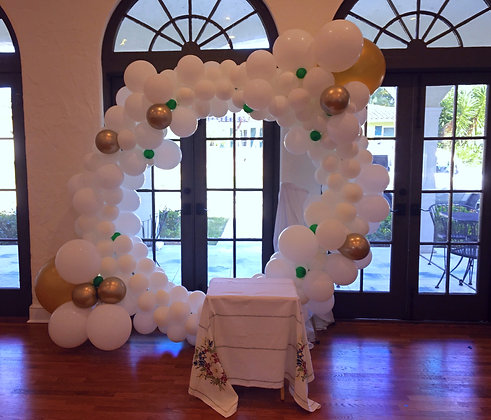Wedding altar or chuppah backdrop
