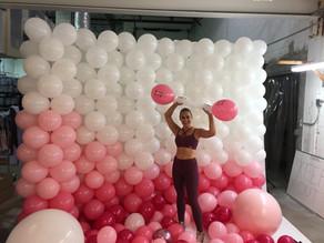 Balloons are sooo heavy!