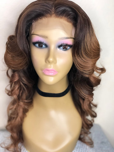 Lace Closure Body Wave Wig #4/30