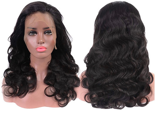 360 Brazilian Body Wave Lace Frontal Wig 150% Density  (Up to 20in)