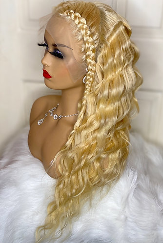 613 Straight Lace Frontal Unit