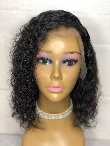 10 in Brazilian Wavy Lace Front Wig