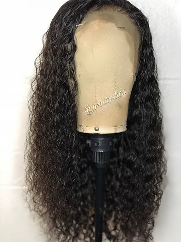 Brazilian Curly 150% Density Lace Frontal Wig