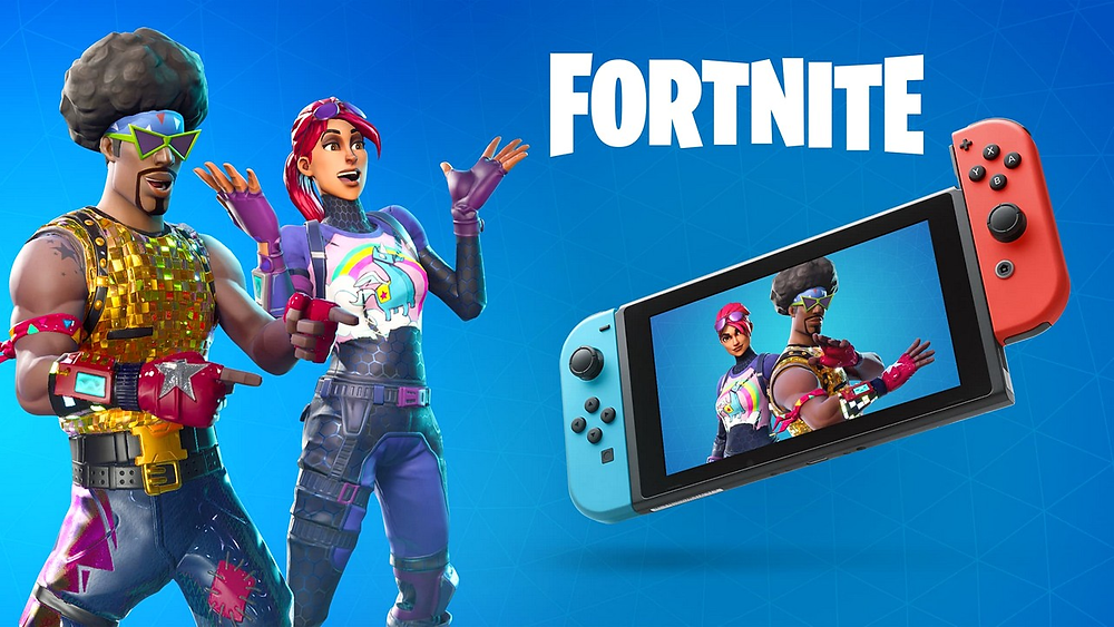 fortnite switch sony