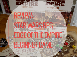 Review Session: Star Wars RPG: Edge of the Empire Beginner Box