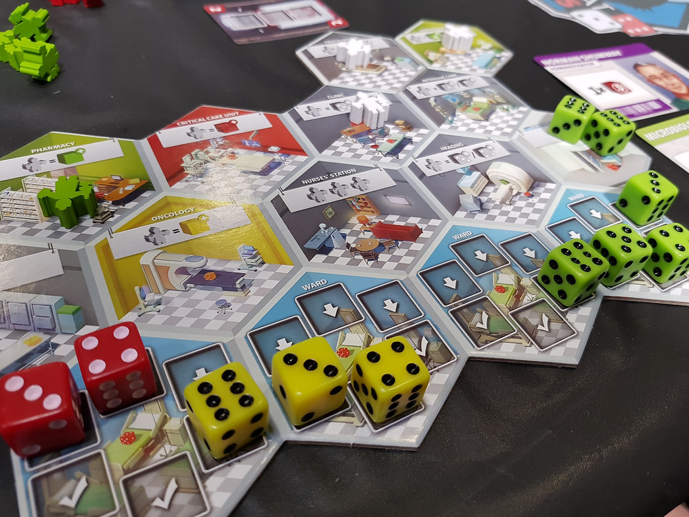 dice hospital boards