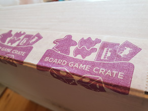 Board Game Crate - First box, first look