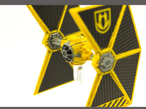 X-Wing 2.0 Ship Reviews - Mining Guild TIE Fighter