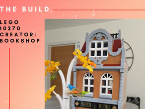 The Build - Lego 10270 - Creator: Bookshop