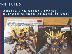 The Build - Gunpla SD Grade Unicorn Banshee Norn