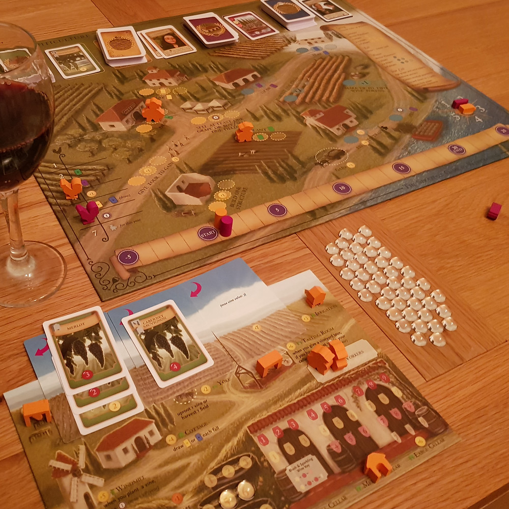 Viticulture with vino